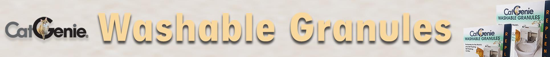 Washable Granules