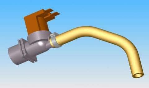 CatGenie Inlet valve