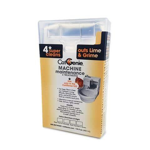 CatGenie Machine Maintenance